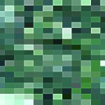 Pixelated Green PowerPoint Background1