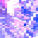 Pixelated Pink PowerPoint Background 2